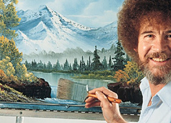 Bob Ross, the man, the imagination, the legend.