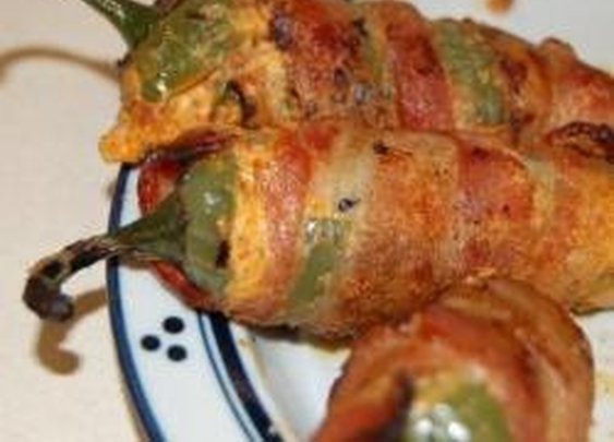 Cheddar-Stuffed Bacon-Wrapped Jalapenos