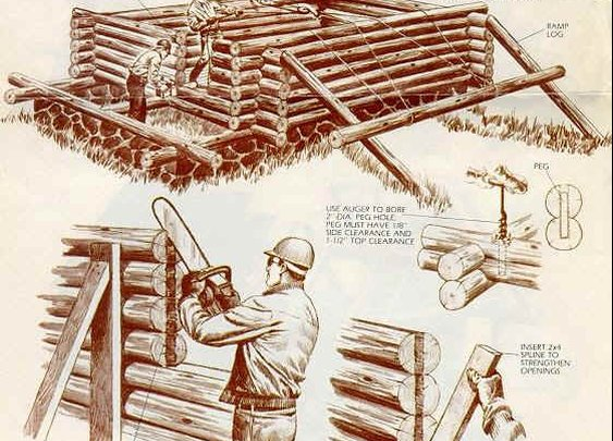 Build Your Own Log Cabin