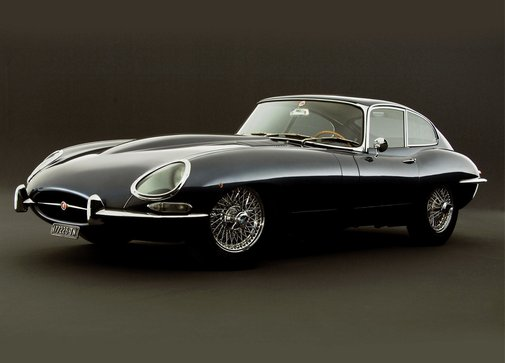 the e type Jag