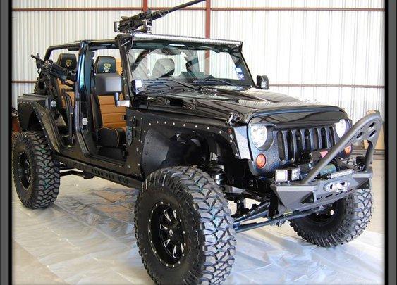Tactical Jeep
