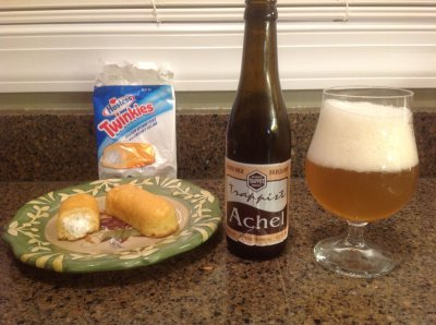 Hostess Pairing Part II: Achel 8º Blonde and a Twinkie | beerbecue