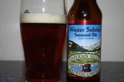 Beer Review – Anderson Valley Brewing Winter Solstice Seasonal Ale « It's just the booze dancing…