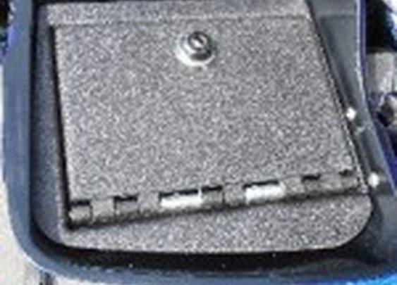 Motorcycle Gun Vault for Saddle Bag