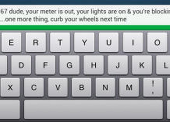 Bad parking job? Text the driver through the license plate | Crave - CNET