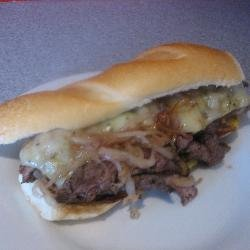 Michaela's Steak Sandwich