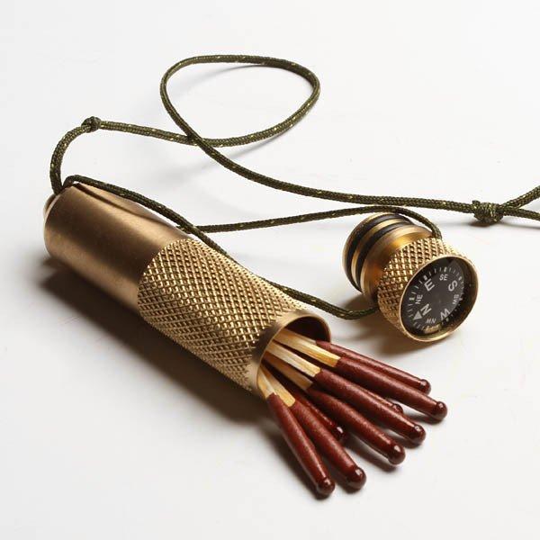 Brass Stow-Away Capsule