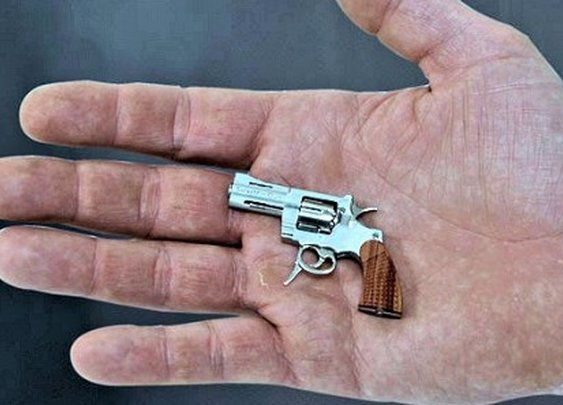 World's smallest revolver doesn't have the world's smallest price
