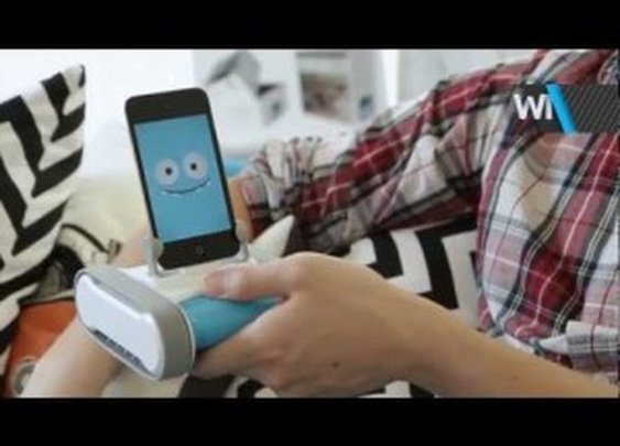 Meet Romo: The World's First Smartphone Robot