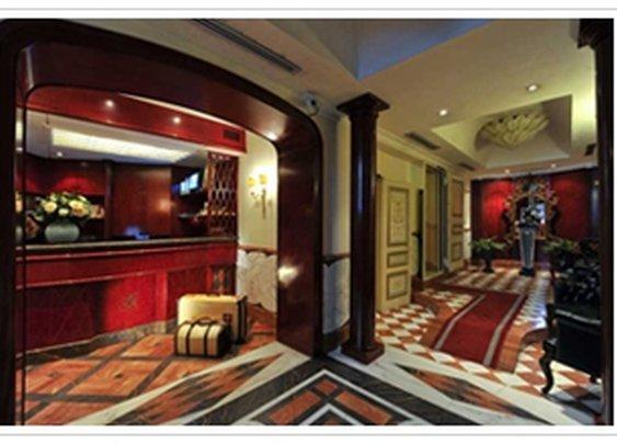 Neoclassical3: Hotel Britannia, Rome. Britannia Hotel Rome.