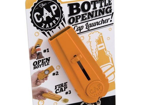 Cap Zappa: Open Bottle, Shoot Enemies, Drink Beer