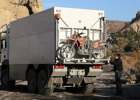 Huckberry | Garbage Truck Adventuremobiles