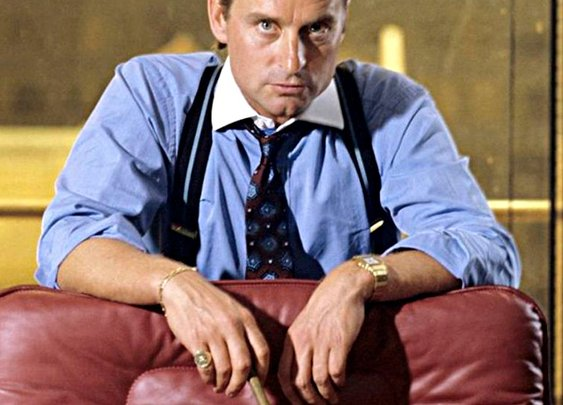 Villain: Gordon Gekko - Headlines & Heroes