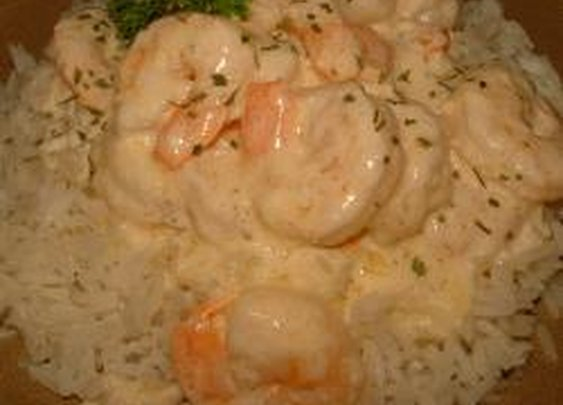 Spring Hill Ranch Creamed Shrimp