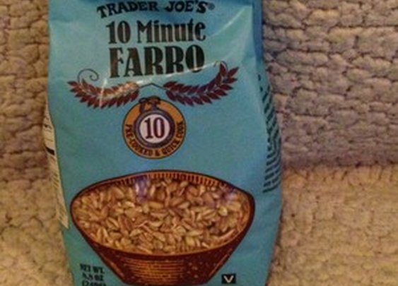 Trader Joe's 10 Minute Farro Grain 8 8 oz New Item Pre Cooked Quick Cook Vegan | eBay
