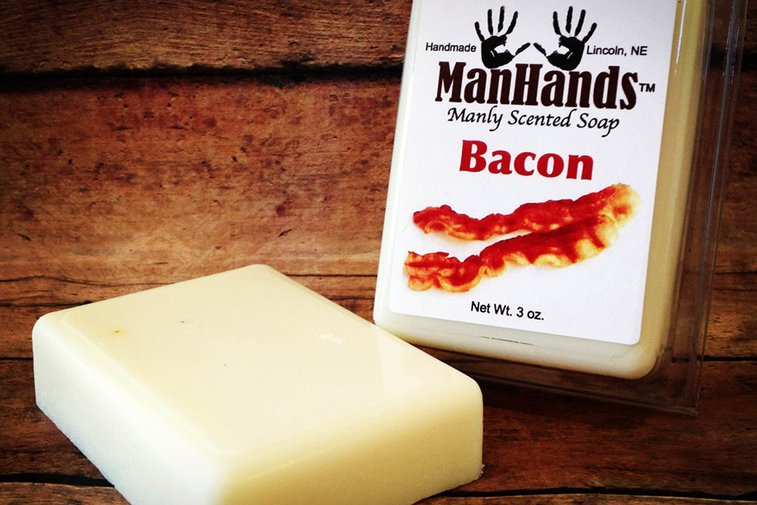 ManHands Manly Scented Soap   Uncrate