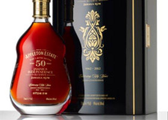 Appleton Estate Releases 50 Year Old Jamaica Rum - Jamaica Independence Reserve   Drinks   Cigar Aficionado