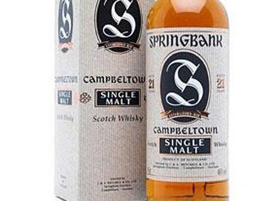 Review: Springbank 21 Year Old Single Malt Whisky | Drinkhacker.com