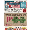 1930's tickets