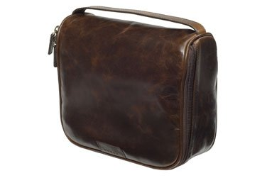 Classic Leather Dopp Kit from Moore & Giles