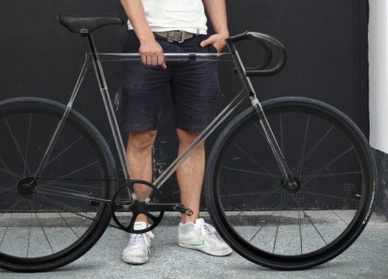Clarity Bike concept suggests transparent future for cycling