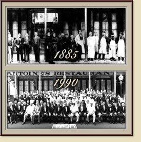 Antoine's Restaurant - New Orleans Cuisine, New Orleans Louisiana - History