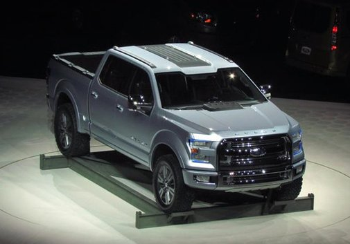 Ford F-150 next generation: The Atlas