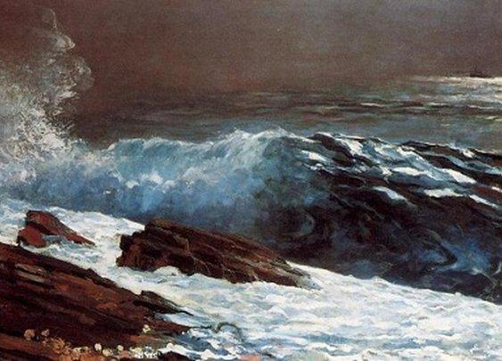 Sunlight on the Coast :: Winslow Homer