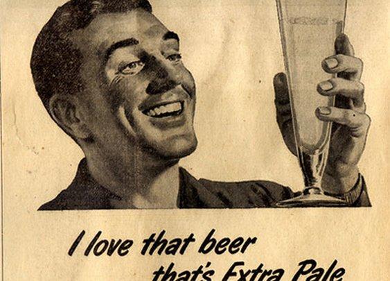 Rainier Beer 1950 ad