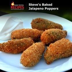 Steve's Baked Jalapeno Poppers