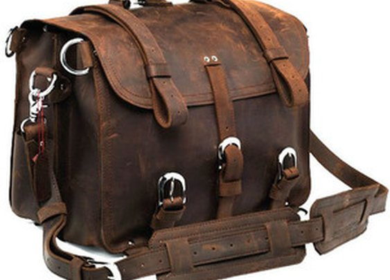 Neo Handmade Leather Bags | Neo Leather Bags — Vintage Handmade Large Genuine Crazy Horse Leather Travel Bag / Duffle - Backpack / Messenger (n53)