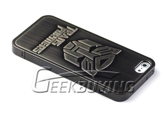 Brand New 86Hero 3D Transformers Autobots Plating Hard Back Case Cover for iPhone 5  Black  - GeekBuying.com