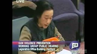 Henson Ong at Gun Violence Prevention Public Hearing - Hartford, CT - 1/28/2013 - YouTube
