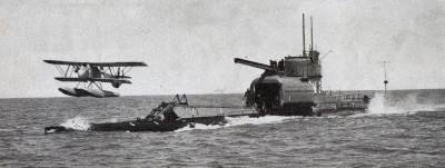 Submersible Aircraft Carrier
