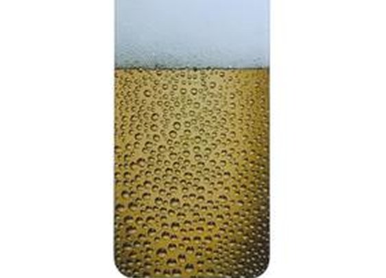 Brand New Beer Drops Pattern Glass Hard Battery Protective Cover Case For iPhone 4/iPhone 4S - GeekBuying.com