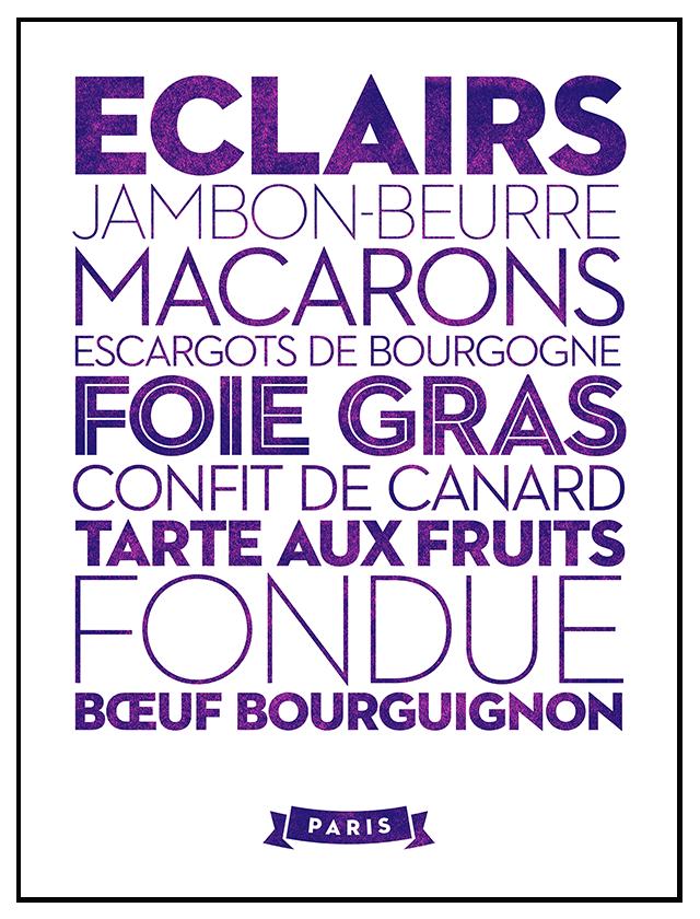 Paris | Delicious City Prints