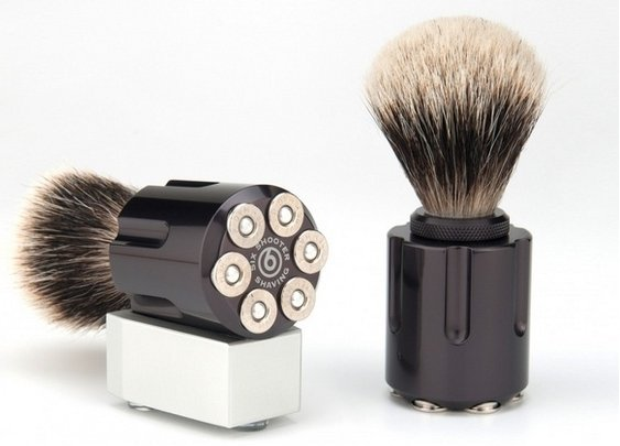Six Shooters Shaving Brush | That Should Be Mine