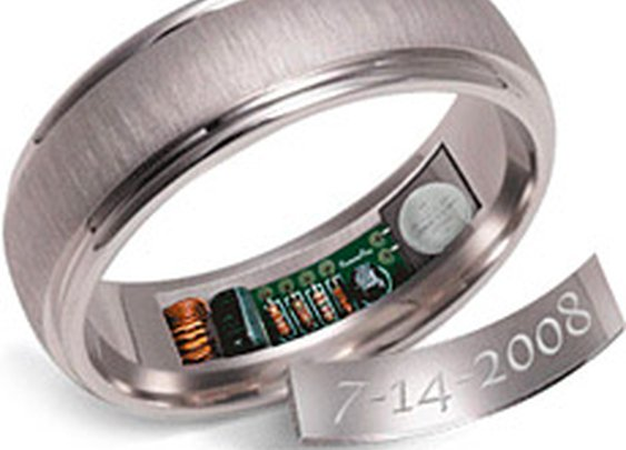 Remember Rings - they heat up 24 hours before you are supposed to remember something