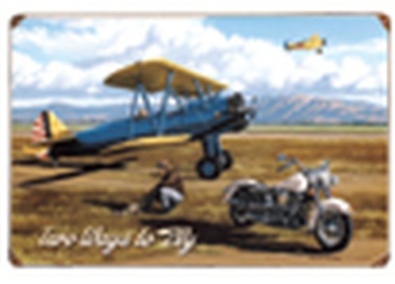 Vintage Aviation Signs - Sporty's Wright Bros