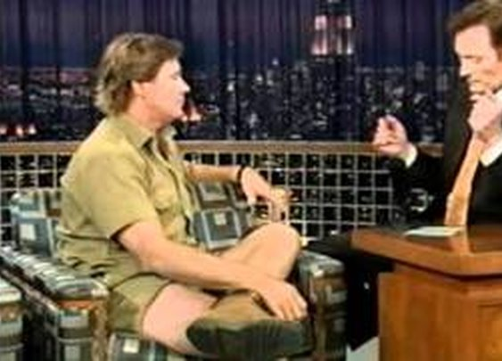 Steve Irwin on Conan - YouTube