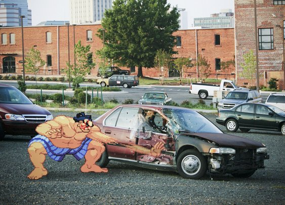 Old School Video Game Characters in Real Life - News - Bubblews