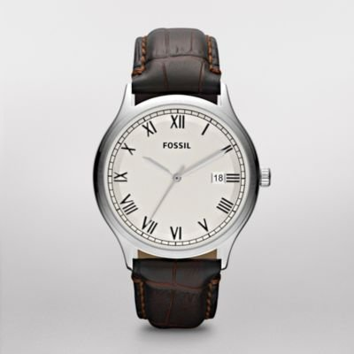 FOSSIL Ansel Leather Watch