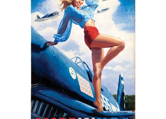 Pin-Up Signs - Sporty's Wright Bros