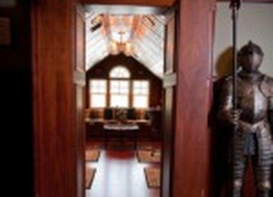 Secret Room Behind Bookshelf Doors