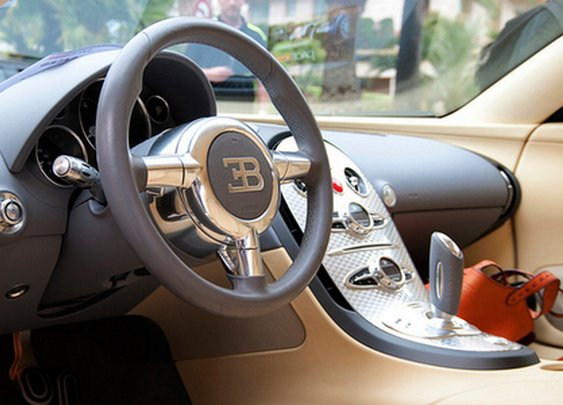 Bugatti's Fine Looking Interior ~ The Good Guys Corner