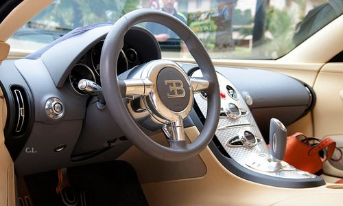 Bugatti's Fine Looking Interior ~ The Good Guys Corner