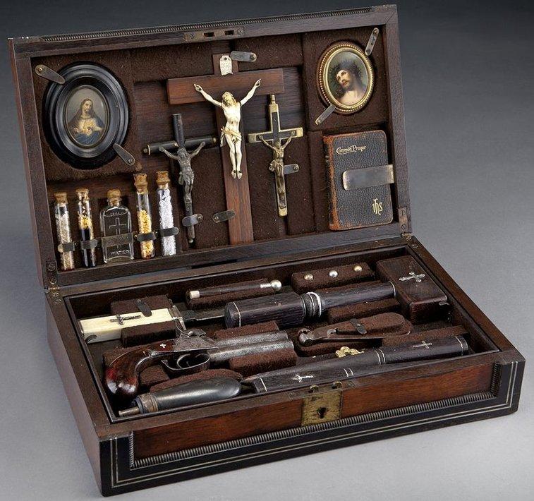 Vampire Killing Kit from the 19th Century