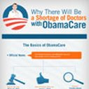 Why There Will Be a Shortage of Doctors with ObamaCare – Health Insurance Infographic   iCanBenefit.com