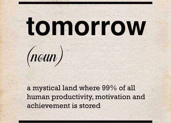 The Great Thing About Tomorrow