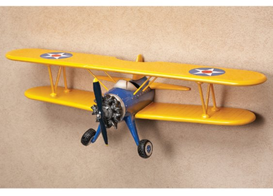 Biplane Shelf - Sporty's Wright Bros
